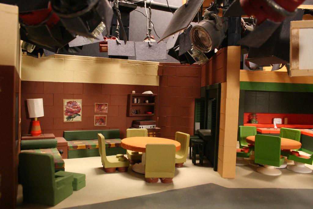 Create Living Room Stage Set