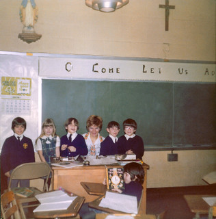 St Frances de Chantal students & Teacher 70s | by Whiskeygonebad