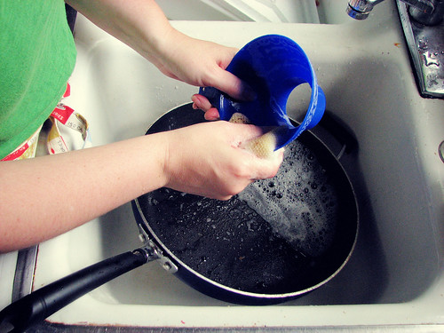A Month of Hands: 25/31 :: Washing Dishes | by lisaclarke