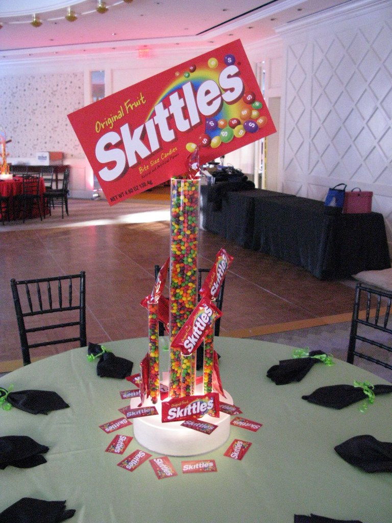Candy theme centerpiece the prop factory flickr