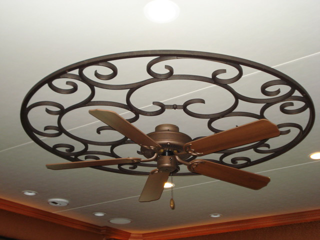 Faux Wrought Iron Custom Ceiling Medallion This Ceiling