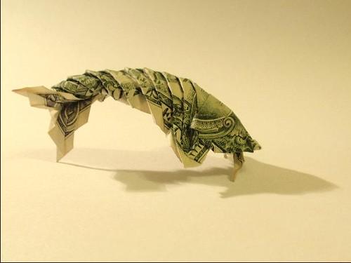 Dollar Koi Fish Folded By Bartosz Kolodziejczuk Designed B Flickr