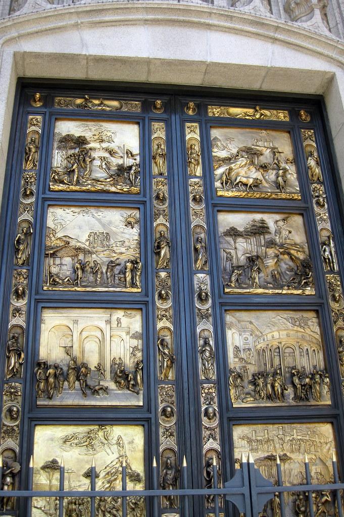 ... San Francisco - Nob Hill Grace Cathedral - Ghiberti Doors | by wallyg & San Francisco - Nob Hill: Grace Cathedral - Ghiberti Doorsu2026 | Flickr