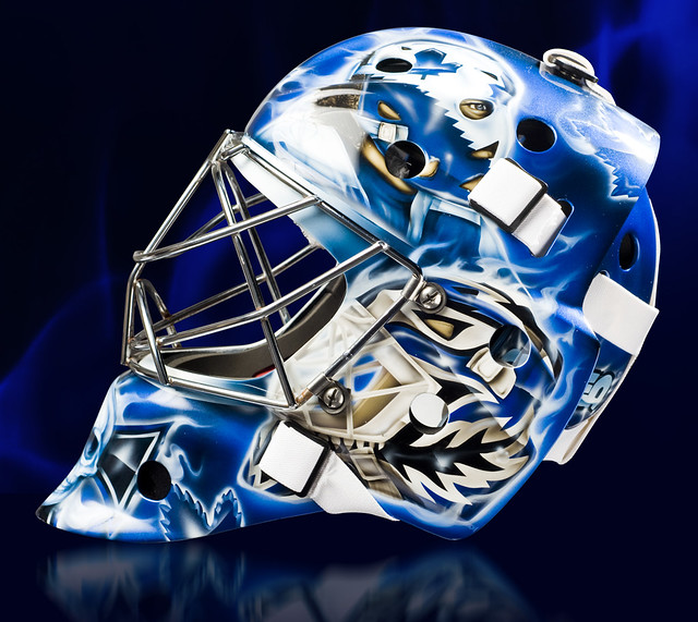 Goalie Helmet Paint Jobs
