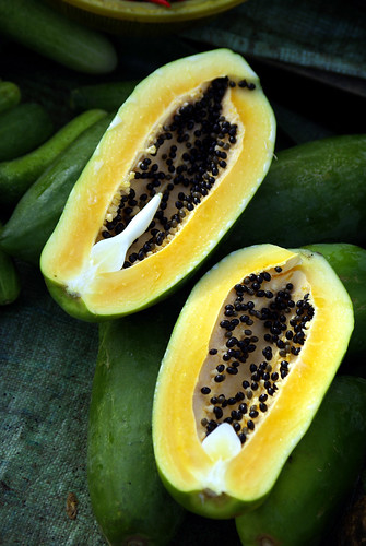 Papaya, Mekong Delta | by The Hungry Cyclist