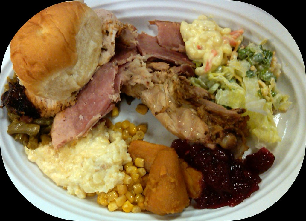 Potluck Luncheon | My Lunch - I was at a (early ...
