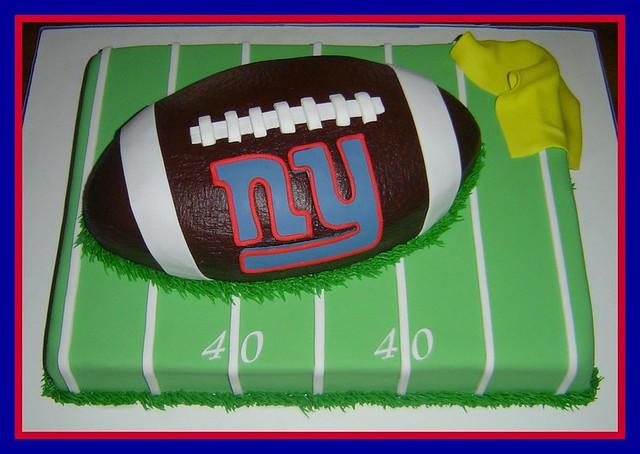 Cover Football Cake Fondant