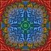 Mandelbrot branches kaleidoscope