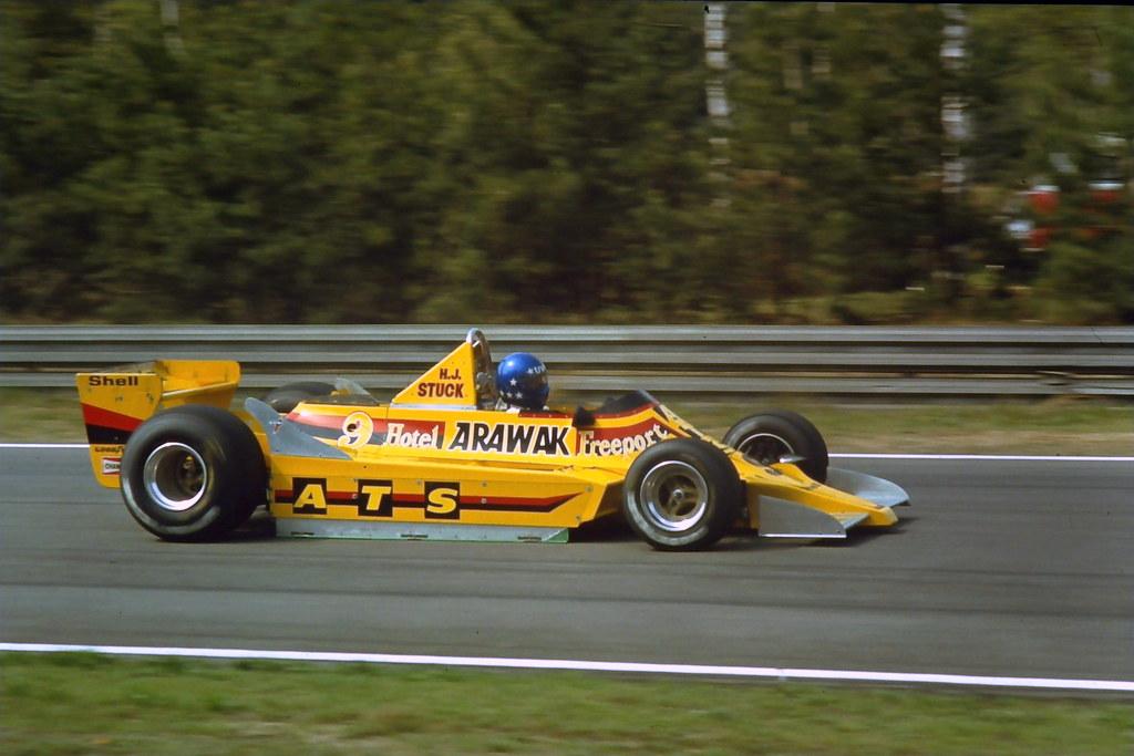 Hans Stuck - ATS D2 - Zolder - 1979 Belgian Grand Prix ...