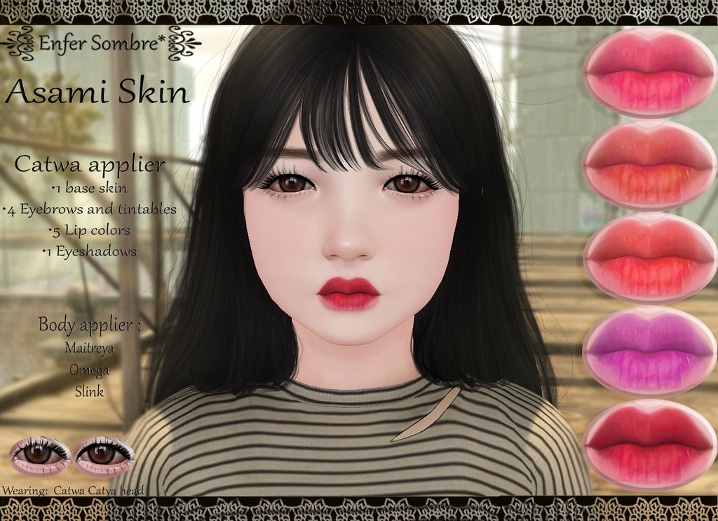 Asami Skin Whimsical Asami Is Available At Whimsical Even Flickr