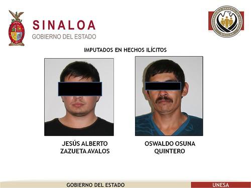 UNESA detiene a 5 personas con orden de aprehensión