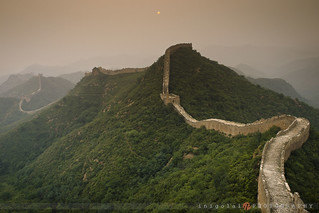 THE GREAT WALL/gloomy sunset | by inigolai
