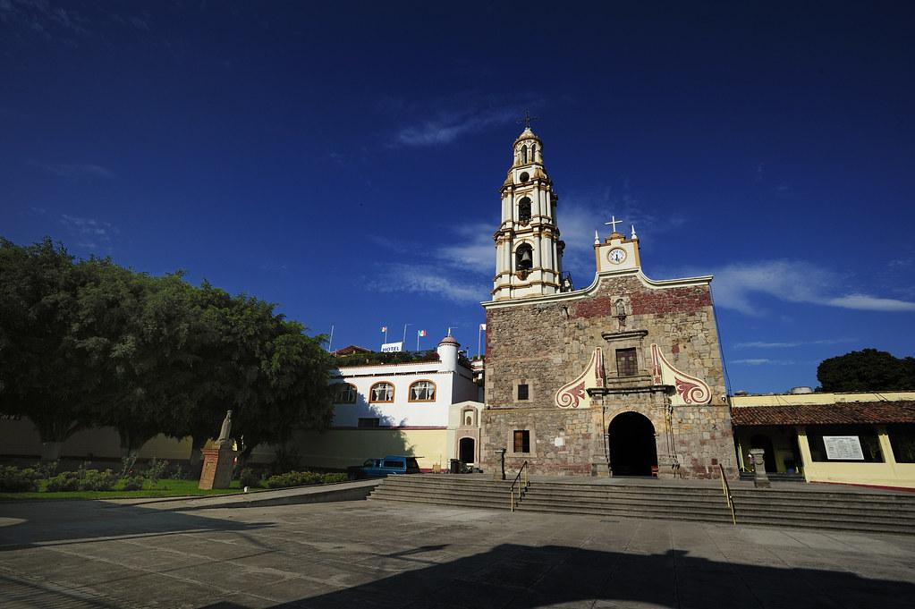 Parroquia de San Andrés en Ajijic.  The Saintn Andrew ...