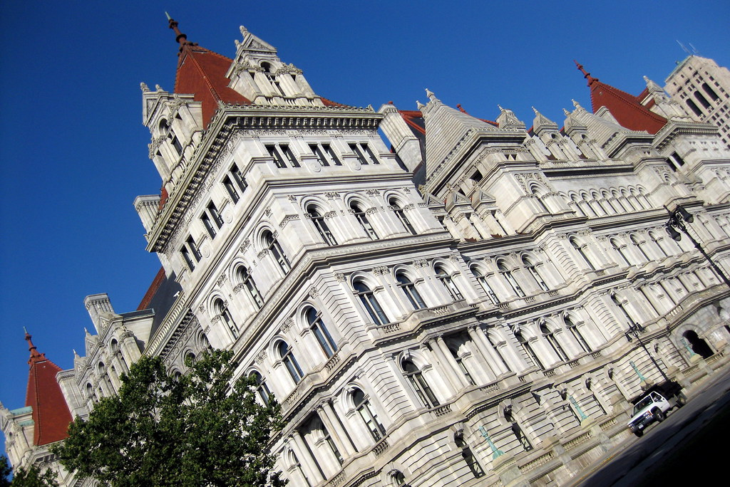 NY  Albany New York State Capitol  The New York State Cap  Flickr