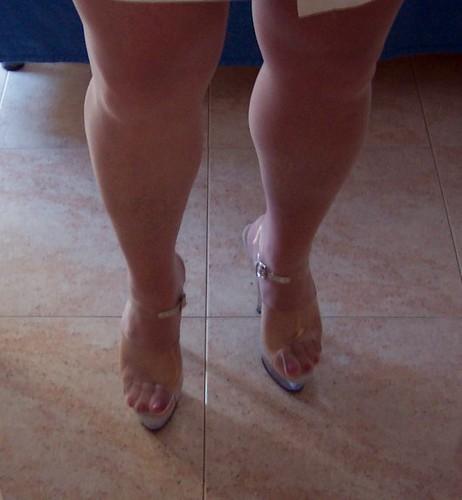 Bbw in high heels