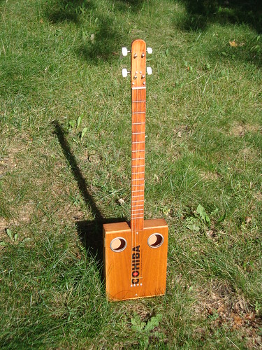 String cohiba cigar box guitar by resist instrument works