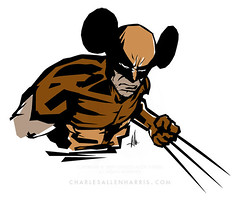 Disney/Marvel mashup
