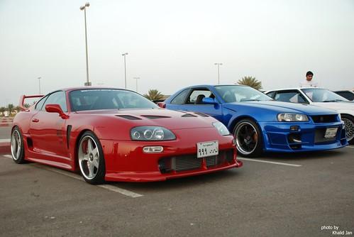 Toyota Camera TRD supra and R34 skyline | khalid jan | Flickr