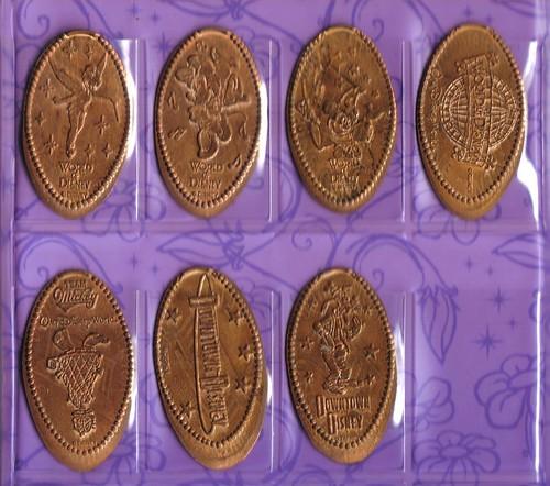 disney pressed coins