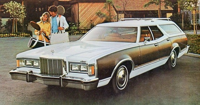 1977 mercury cougar villager station wagon flickr