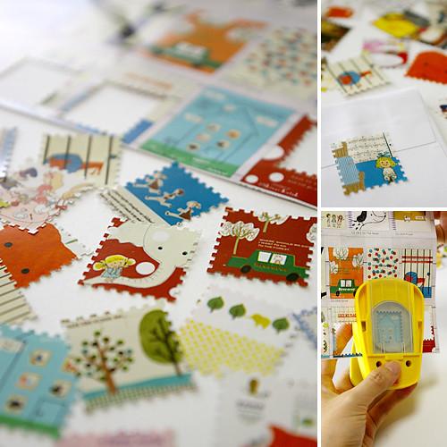 Craft Punch Postage Stamp