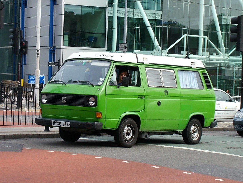 Green Vw Camper 1982 Vw Type 2 T3 Transporter