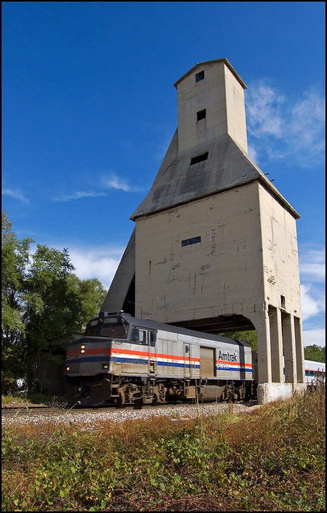 Coaling Tower The Old Coal Tipple In Michigan City Indian Tom Gill Flickr