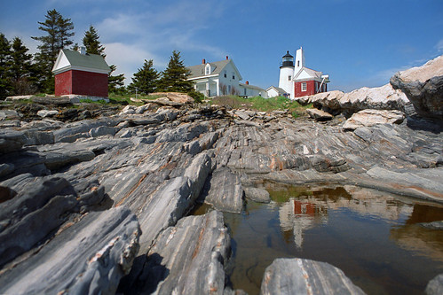 Pemaquid Point Lighthouse reflection | by nelights