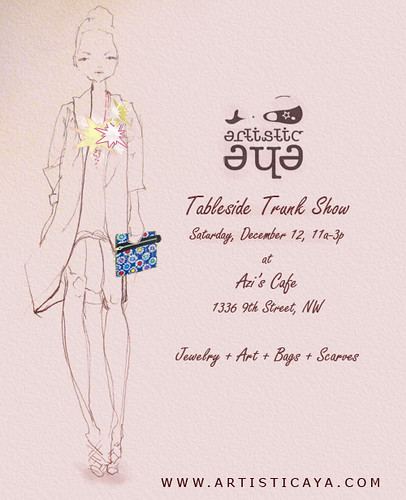 Tableside Trunk Show Invitation Ayanna Flickr