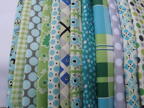 Kaleidoscope fabrics | by aquilterstable