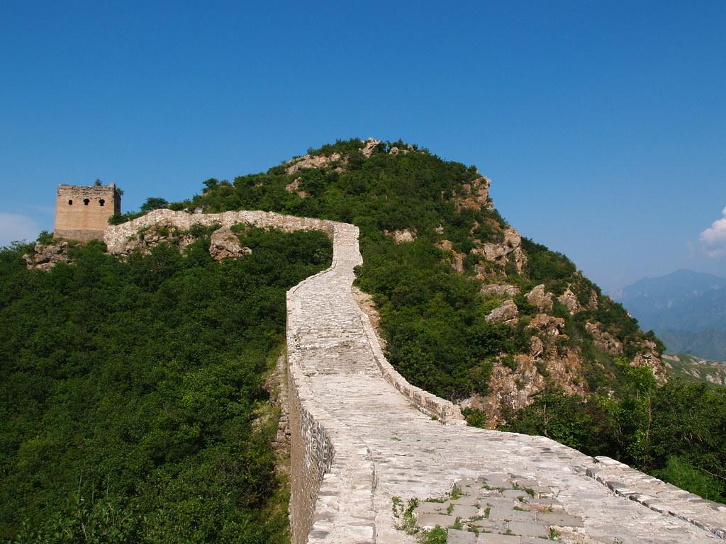 Vagamundos 2005. China. Gran Muralla. Simatai