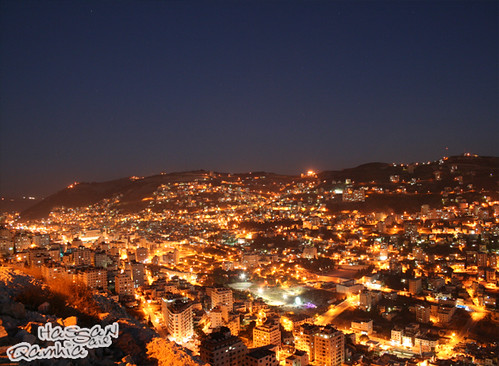 Nablus City at Night | by HaSSan .S. Qamhia حسن سعيد قمحية