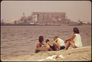 Olin Mathieson Chemical Plant on Far Side of Lake 07/1972 | by The U.S. National Archives