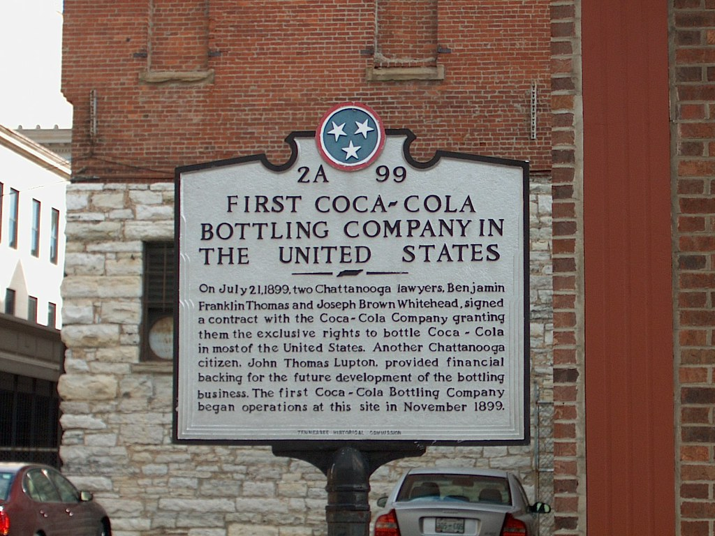 First Coca Cola Bottling Co Chattanooga Tn John Flickr
