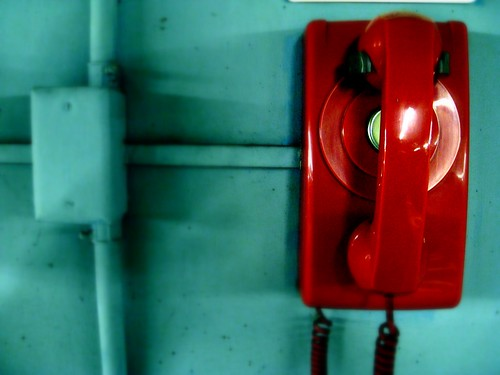 Day 300 : red phone | by MonkeyBandit