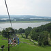 Chestnut Mountain Ski Lift View
