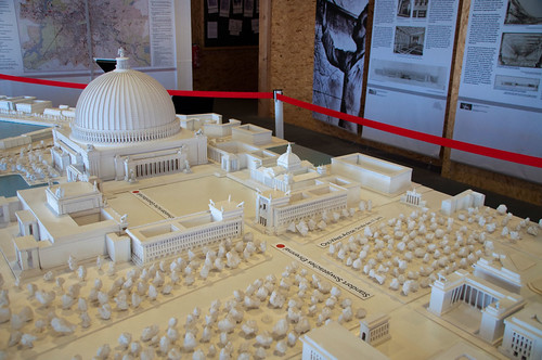 City Of South Gate >> Germania: The Great Hall | Model that was built for the ...