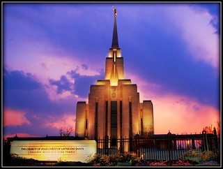 Oquirrh Mountain Temple - Utah | by OleMoonTales