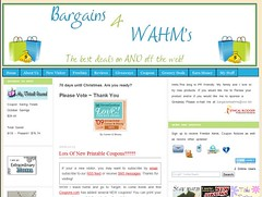 Bargains 4 WAHM's | by Blogging Women