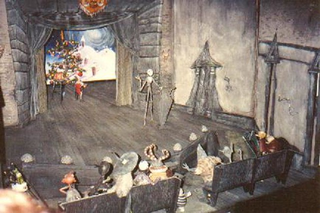 nightmare before christmas town hall film set 1 by eeeek a mouse