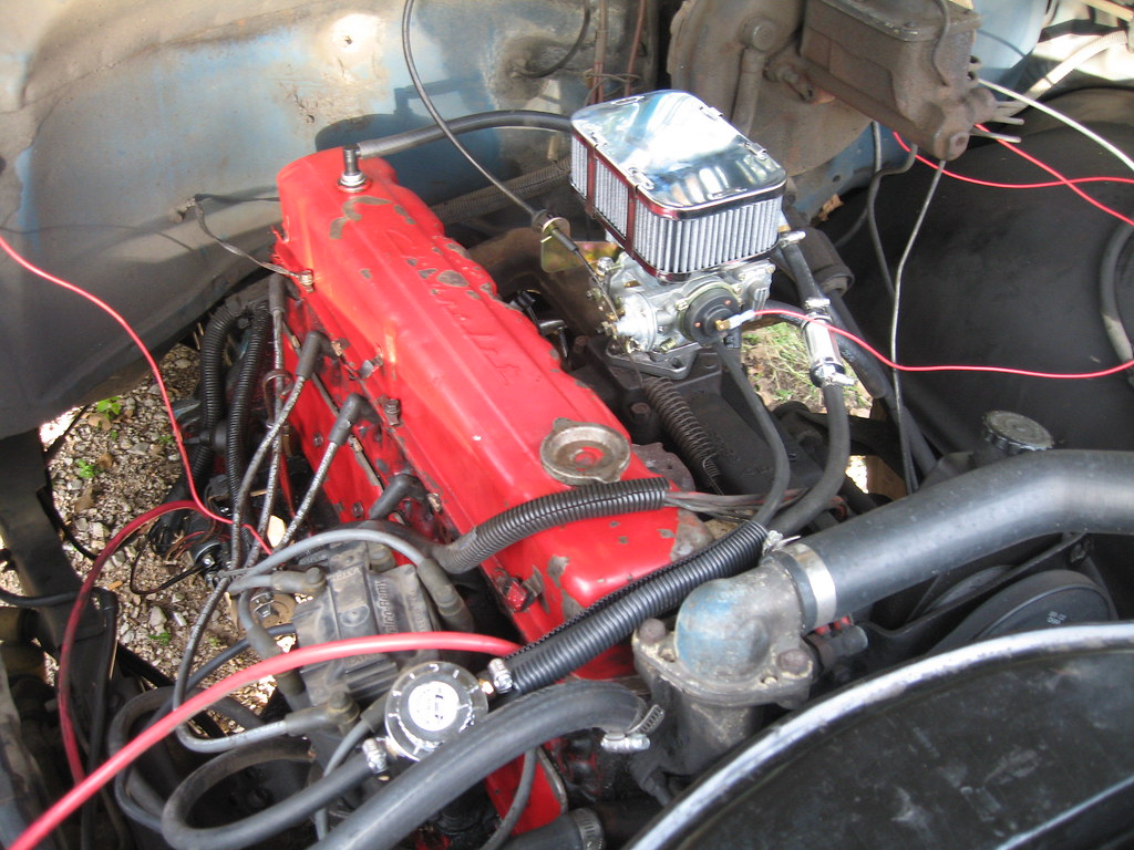 All Chevy chevy 250 engine : Chevy 250 L6 | 1967. I just finished installing the carburet… | Flickr