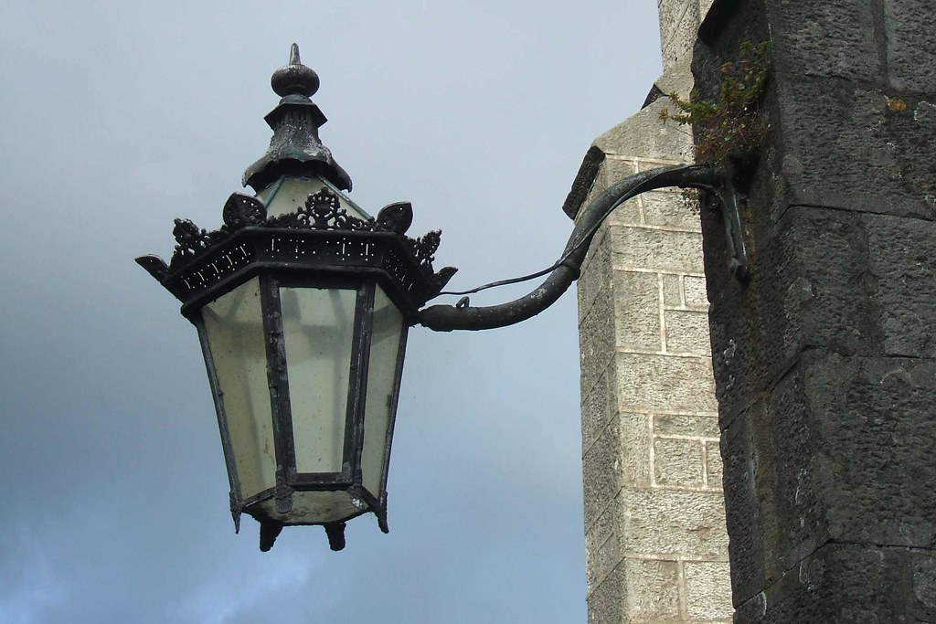 By Victorian Gas Lamp Holder   St. Maryu0027s Church Of Ireland, Athlone. | By