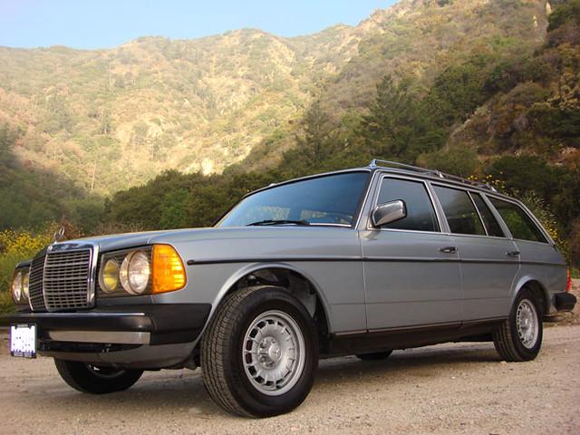 1983 mercedes benz 300td touring diesel turbo j g for 1983 mercedes benz 300td