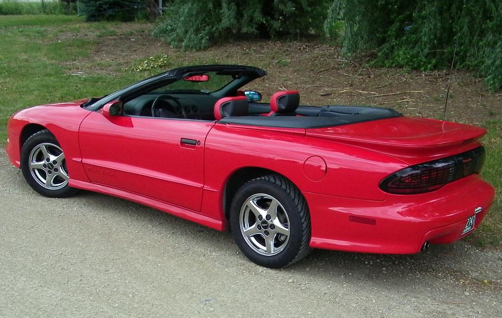 1995 pontiac firebird trans am convertible coconv flickr. Black Bedroom Furniture Sets. Home Design Ideas