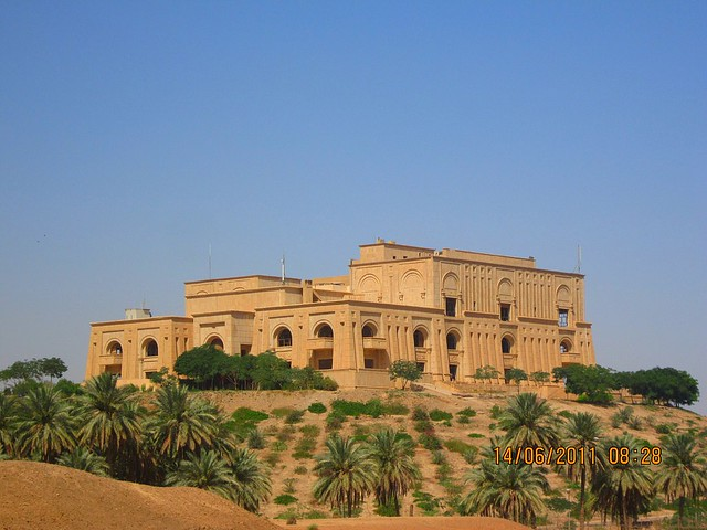 Saddam Hussein's palace in Babylon. | Flickr - Photo Sharing!