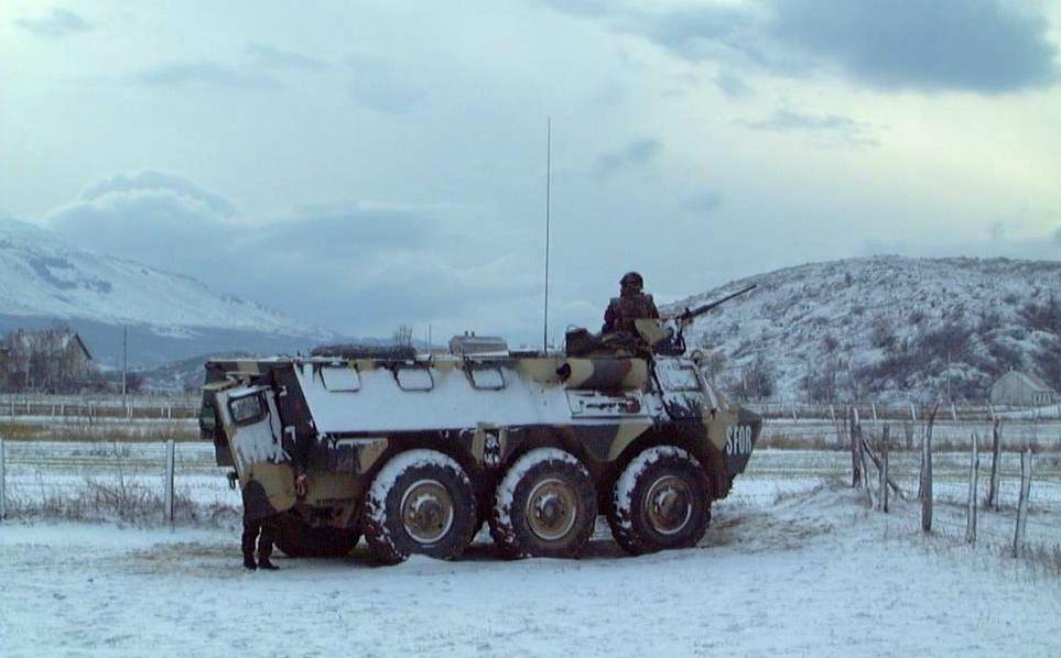 Les F.A.R. en Bosnie  IFOR, SFOR et EUFOR Althea 32557725130_9ef71b0995_o