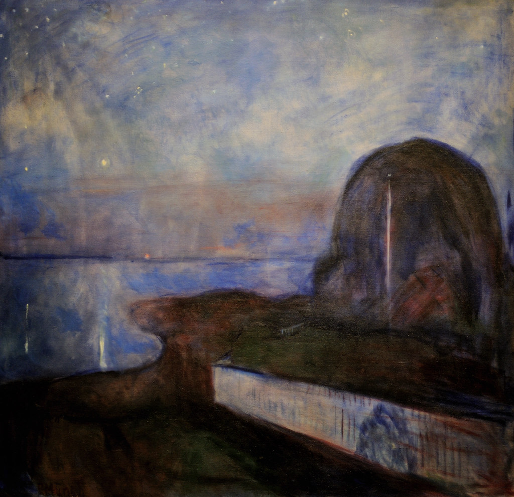 an analysis of the abstract painting starry night by edvard munch Edvard munch oil paintings at paintingmaniacom, hand-painted oil painting reproductions at wholesale prices.