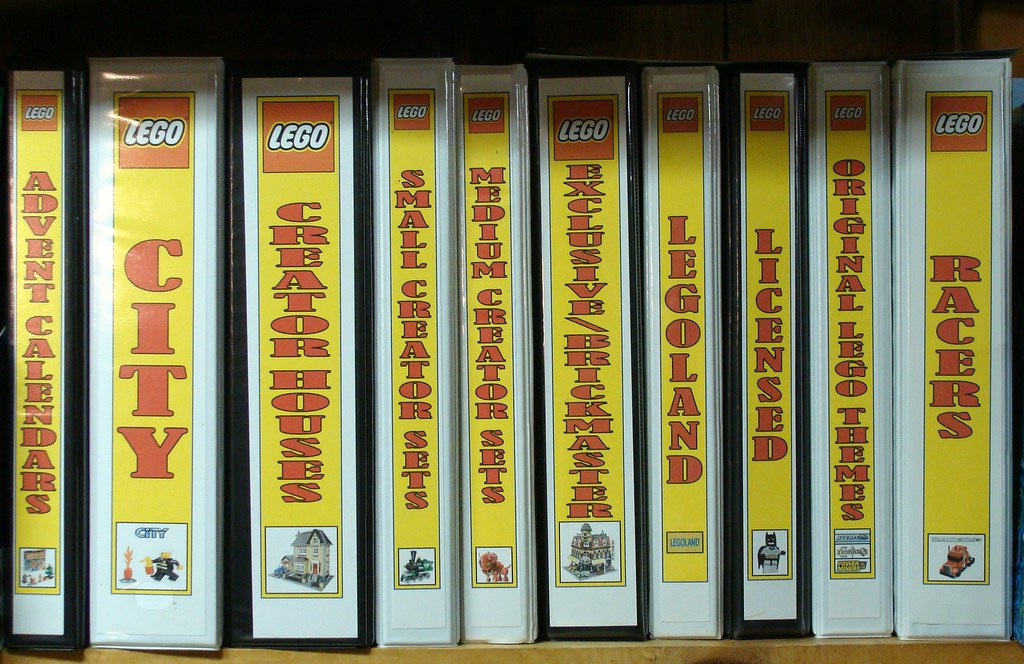 Instruction Booklet Binders These Lego Instruction Booklet Flickr