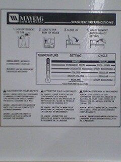 washing machine picture instructions