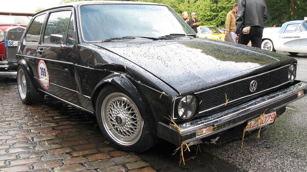 1978 Artz Nordstadt Golf 928 Crashed Jens Lilienthal